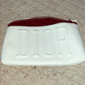 Dior makeup bag (all white)